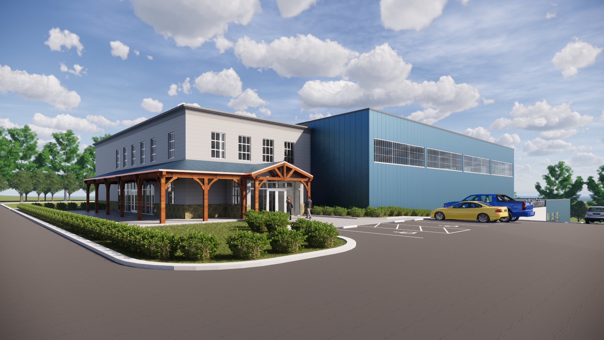 Saco River Drinking Water Treatment Facility Rendering